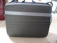 Large hard suitcase