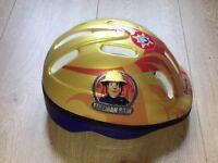 Fireman Sam bike helmet