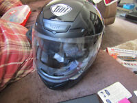 THH Black Motor Bike Helmet