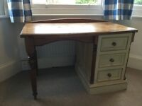 SOLID PINE STUDY DESK IDEAL FOR A CHILDS BEDROOM