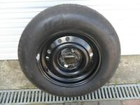 CARAVAN SPARE WHEEL AND TYRE