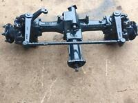 Kubota 4x4 front axle