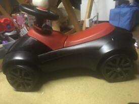 BMW push along children's toy car