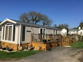Swift Chamonix at Smytham Holiday Park, North Devon 38' x 12' 2 bedrooms