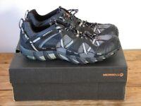 Merrell Mens Waterpro Maipo Trainers. Hiking. Aqua. Vibram. Black. Size UK 11 EU 46. Water sports.
