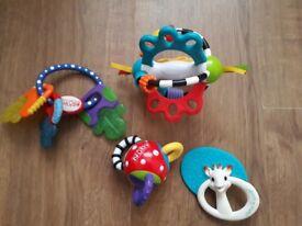 4 Infant Toys