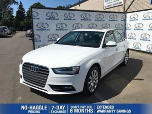 2013 Audi A4 2.0T Quattro| Sunroof| Heated seats