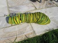 Any electricians out there? I have around 90meters of 6mm x 7 core green/yellow earth cable