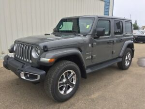 2019 Jeep WRANGLER UNLIMITED SAHARA / 2.0L TURBO WITH E- TORQUE