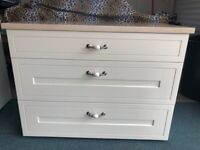 Marble Topped soft close *chest of drawers * 2 Available