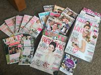 Wedding & Bridal Magazine Bundle of 25