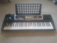 YAMAHA ELECTRIC KEYBOARD PANASONIC HEADPHONES
