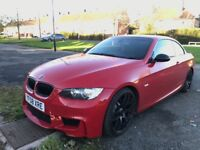 2008 BMW 330D M SPORT CONVERTIBLE 3 SERIES E93 3.0 DIESEL FULLY LOADED S/NAV, LEATHER MANUAL