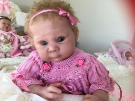 Reborn baby doll limited edition