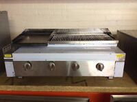 Charcoal Grill *NATURAL GAS* 4 burner - EN57
