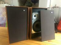 Vintage Wharfdale 3XP Glendale speakers