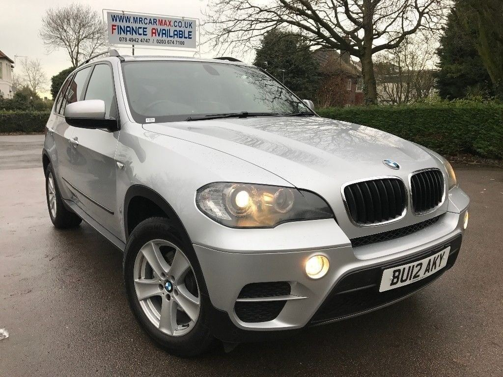 FINANCE £312 PER MONTH, 1 OWNER 2012 BMW X5 XDRIVE 3.0 DIESEL AUTOMATIC,