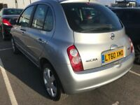 FINANCE £98 PR MONTH 2010 NISSAN MICRA N-TEC 1.2 AUTOMATIC 5 DOOR 1 OWNER 2 KEYS 39K MILES SATNAV