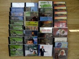 IRISH AND EASY LISTENING COLLECTION OF CDS