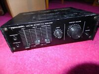 20 watts public address amplifier with PA horn