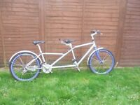 Orbit Tandem 24 gear bicycle