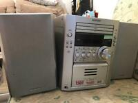 Sharp hifi audio player system 150watt 3 disc BARGAIN PRICE REDUCED