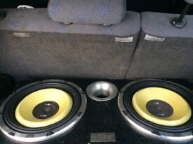 Vibe black air subs with box