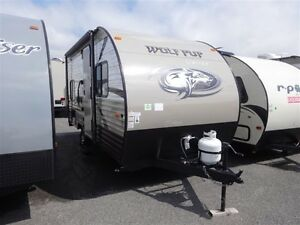2016 Forest River Wolf Pup 16BH / BUNK BED / 2595LB