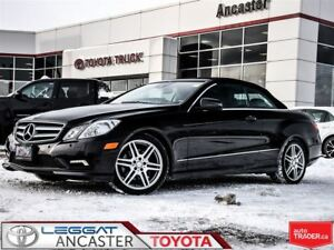 2011 Mercedes-Benz E-Class E350 Cabriolet ONLY 54492 KMS!!