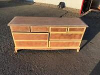 Stag Minstrel 8 drawer chest ready to paint * free furniture delivery *