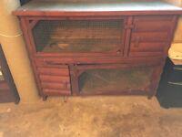 Rabbit Hutch (2 tier) for sale