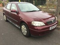 2002 VAUXHALL ASTRA 19,000 MILES ONLY LONG MOT FULL SERVICE HISTORY £1195 O-N-O