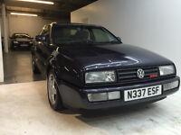 1996 VW VOLKSWAGEN CORRADO VR6 FULL SERVICE HISTORY FULL YEAR MOT JUST DONE 3 KEYS RUST FREE
