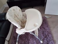 Very good condition Mothercare Highchair