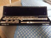 Trevor James silver flute