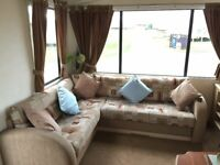 AMAZING STATIC CARAVAN FOR SALE AT CRIMDON DENE - 3 BEDROOM - 12 MONTH PARK -FEES INCLUDED TILL 2019