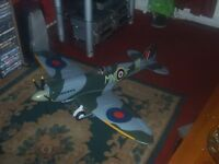 large spitfire remote control