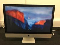 "27"" Apple iMac for Sale, Mid 2011, 2.7 GHz Intel Core i5, 16GB RAM, 1TB 7200 hard drive"