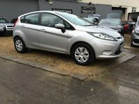 2008 58 ford fiesta eco 1.6 tdci ....... £20 per year tax ..... SILVER ...... P/x welcome