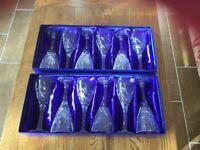 Fine Lead Crystal wine glasses