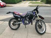 Derbi senda 50 with airsal 70cc kit