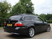 /// BMW 525D SE AUTOMATIC DIESEL 55 PLATE NEWER SHAPE TOURING ESTATE ///