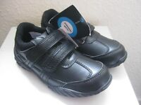 BNWT Boys Black Scuff Resistant School Shoes - Size 13