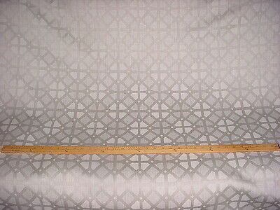 7+Y HANDSOME POLLACK 1044 WOOLGRILLE LAMBSWOOL TRELLIS LATTICE UPHOLSTERY FABRIC