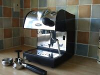 Fracino Piccino Coffee machine and Rancillio Rocky Bean Grinder