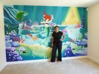 Joanna Perry Murals - Hand Painted Wall Murals - Cheshire based Artist and Painter