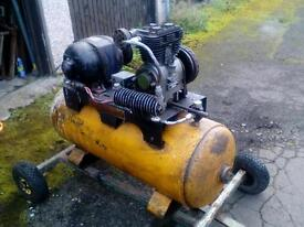 250litre Dunlop compressor