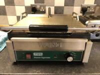 WARING DOUBLE PANINI GRILL WPG250K Preowned
