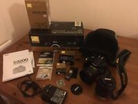 Nikon D3200 24.2MP Digital SLR Camera Kit + 18-55mm f/3..5-5.6 + 35mm f/1.8