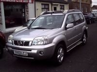 2004 53 NISSAN X-TRAIL 2.2 DCI T-SPEC ** DIESEL 4X4 ** MOT MAY 2017 ** LEATHER INTERIOR **